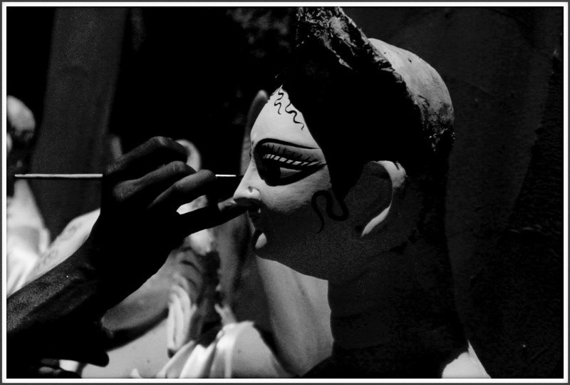 The making of Durga  Puja 2015 :)  #Bengal #puja #pictures #happiness :)