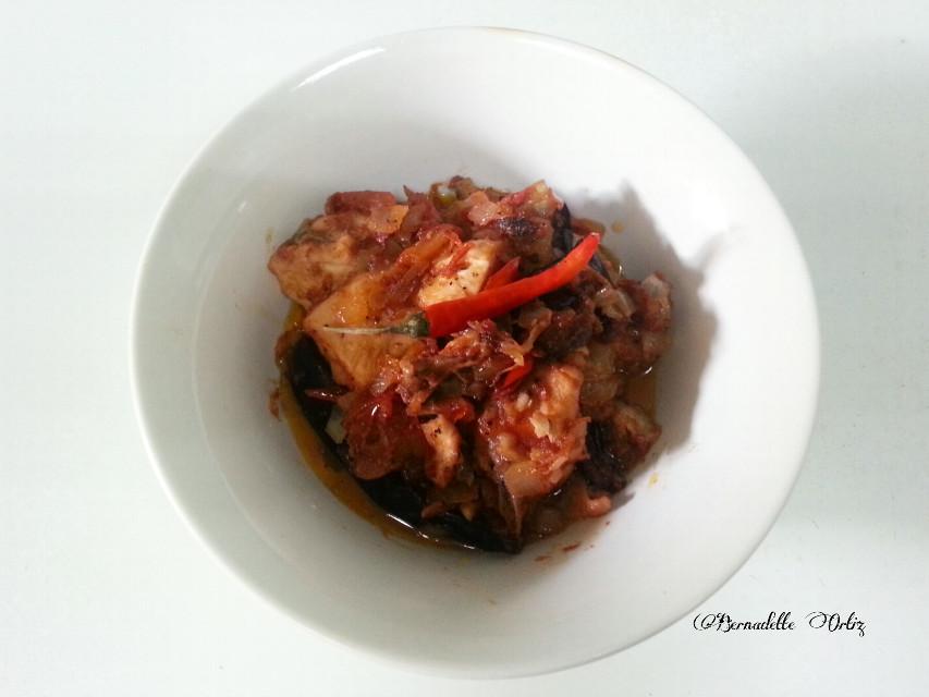 """Filipino dish """"Binagoongan""""  #food #photography"""