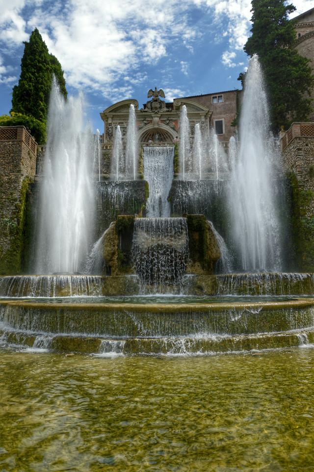 #Villa este #emotions #photography #travel #yiya248 #rinacimiento#roma