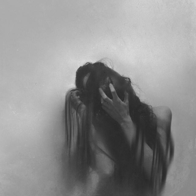 #wapscary #selfportrait #blackandwhite #dark