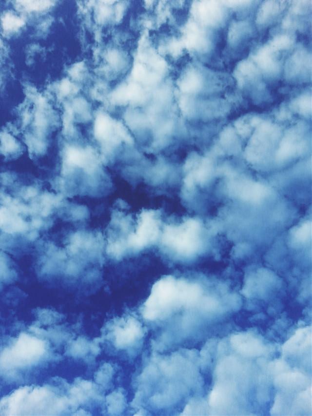 #beautiful #blue #sky #clouds