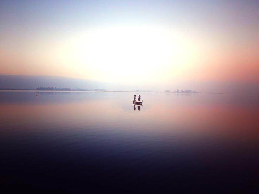 #Pastel  #photography #boat #people #fishing #water #balticsea #sea #landscape #nature #season #autumn