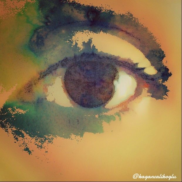 I see you... #FreeToEdit #dpcgold #dpceyes