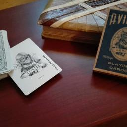 wapwarped vintage playingcards photography deckofcards