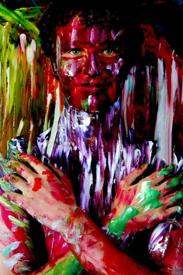 #bodyart #photography #colorful #painting #eyes