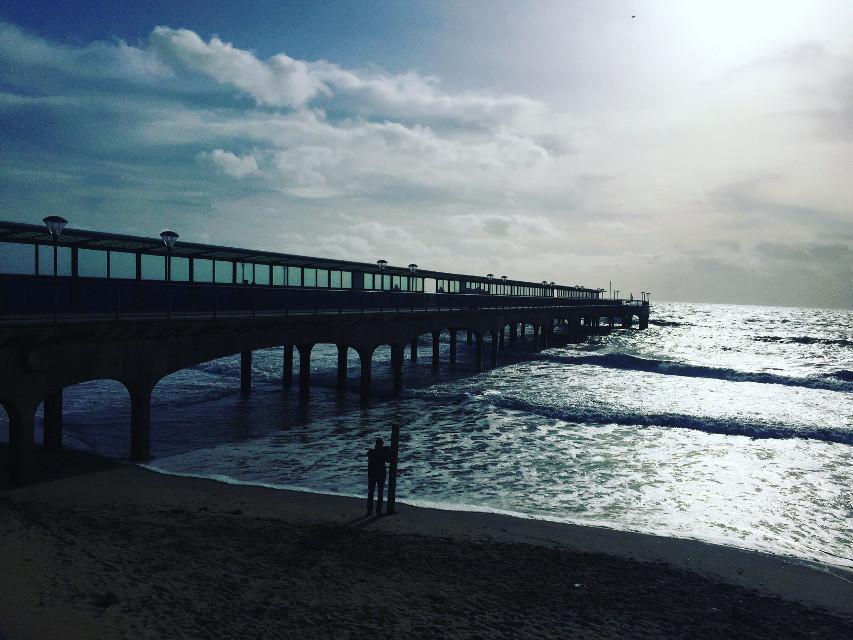 #pier #blue #sea #beach #beachlife #photo #photography #obsession #beauty #dorset