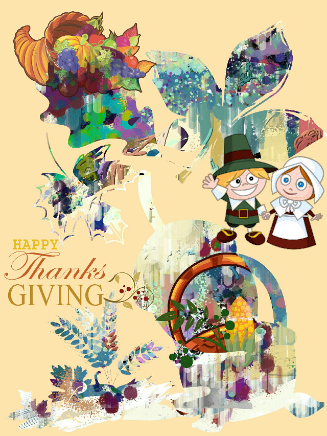 #thanksgiving card ☺  i used a #freetoedit background thanks @lovepaint2   http://picsart.com/i/185380141001202