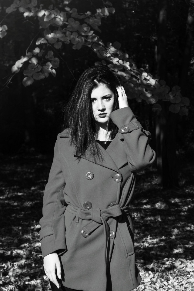 SOON You will be able to contact me on FIVERR and order photo editing and retouching! Stay tuned! ❤  #blackandwhite #girl #portrait #photography #pretty #colorful #nature #autumn