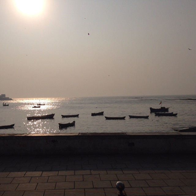 #sunshine # Mumbai Magic #iosphotography