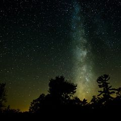milkyway astrophotography darksky