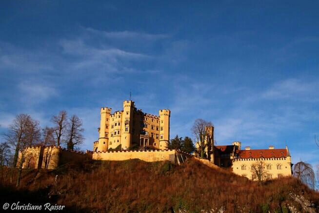 Castle Hohenschwangau Füssen   #colorful #photography #travel #sun #castle #emotions