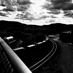 dailyinsperation leadinglines photography blackandwhite trains