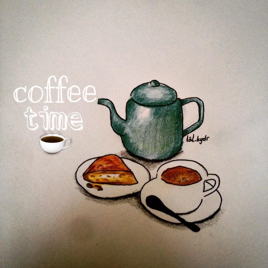 #interesting #art #sketch #coffee #illustration #draw #drawing #art #çizim #foodsketch