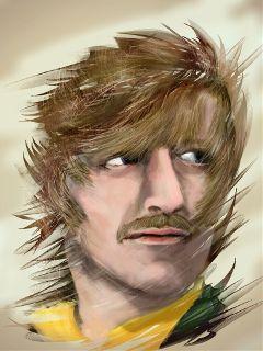 drawing portrait ringo weallliveina liverpool