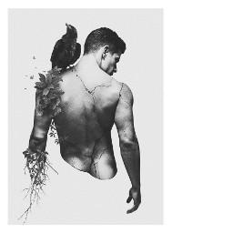 blackandwhite illustration digitalart influencer hipster