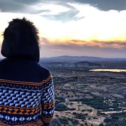 tunisia travel mountain mountainview sunset
