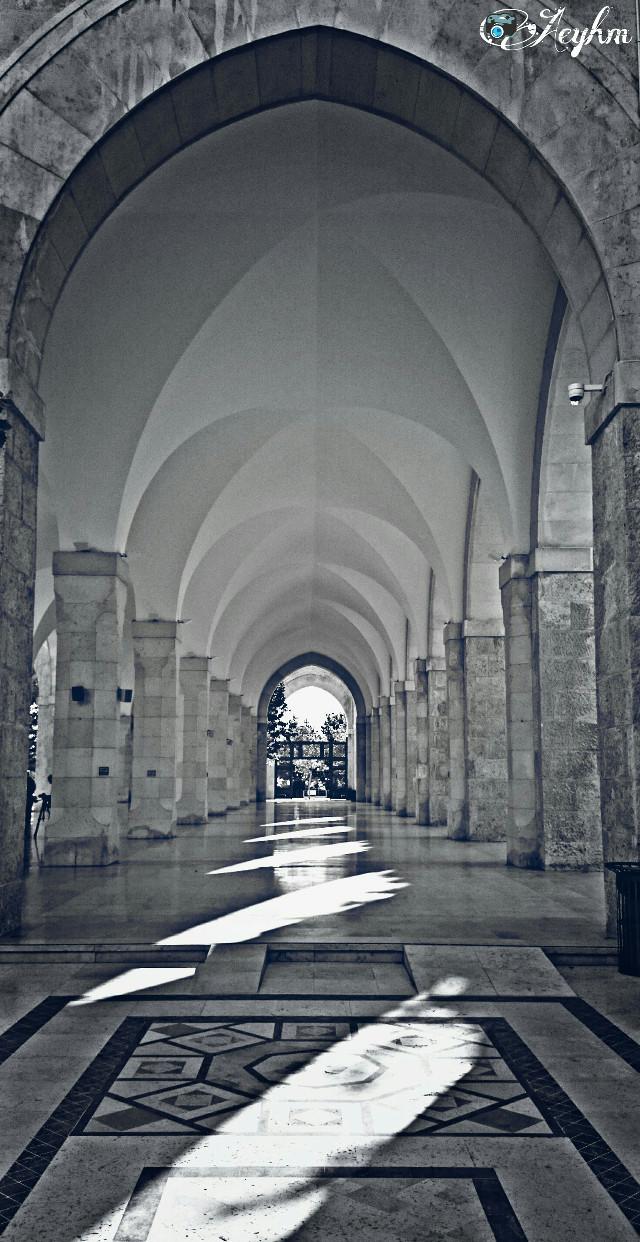 #Symmetry #photography #blackandwhite #hdr #oldphoto #building #travel #vintage #retro