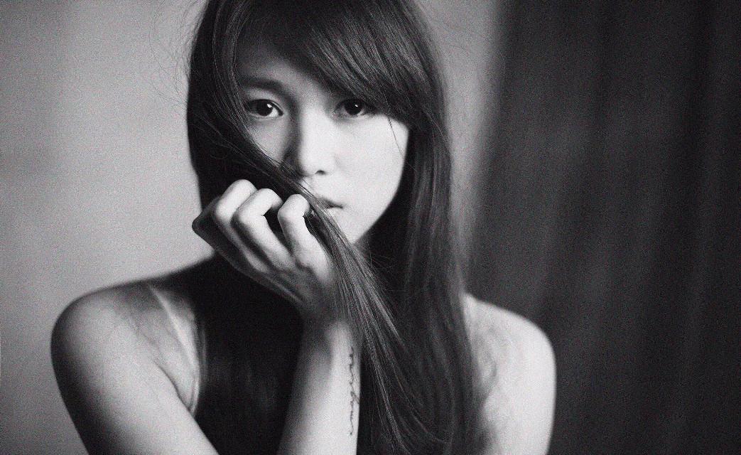 #portrait #blackandwhite #girl #studio      Photography by tommi chu