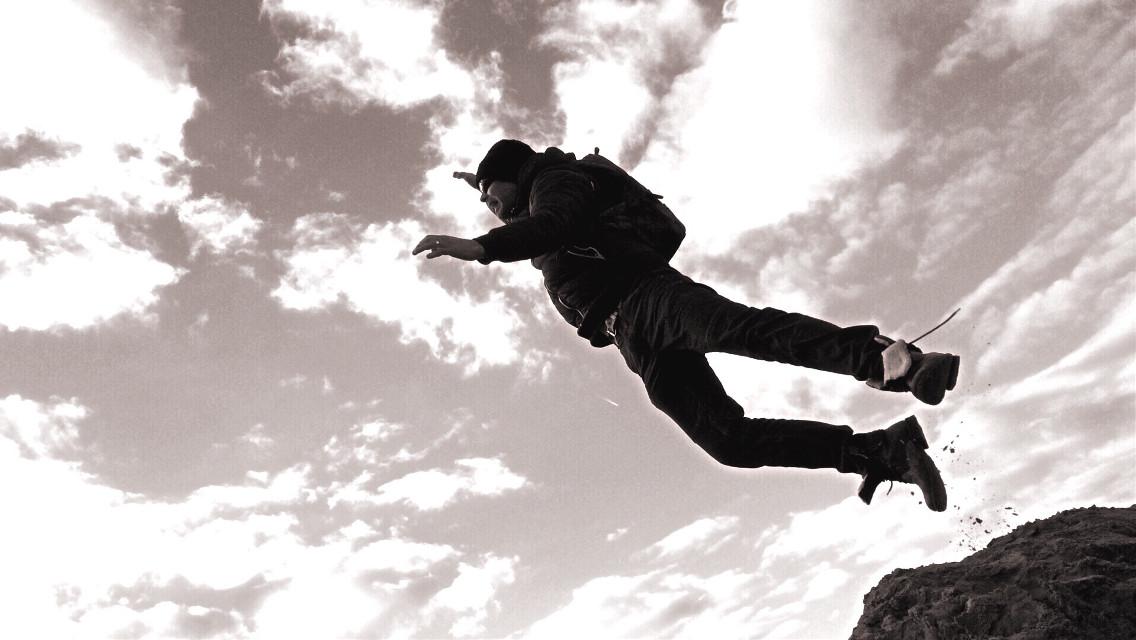 #jump #silhouette #sundaywalk #qualitytime #family