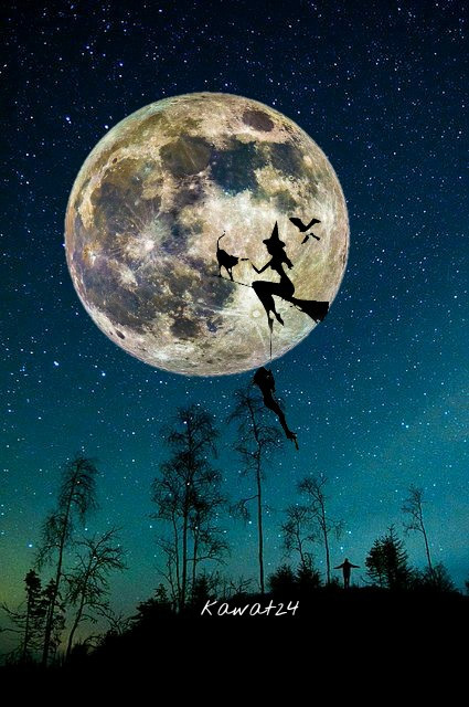 #photography #freetoedit #moon #down #