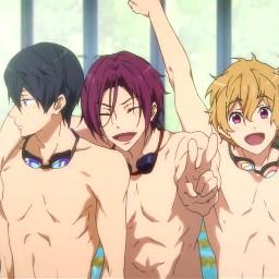 free anime boys grouppic