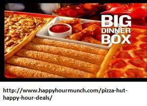 pizza hut happy hour