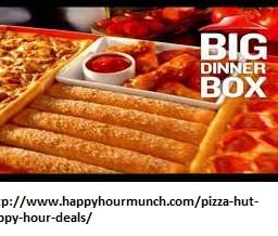 pizza hut happy hour