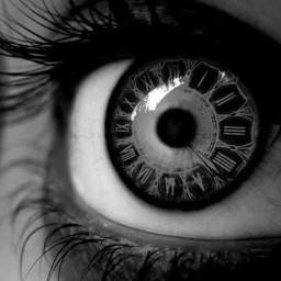 eyes clock