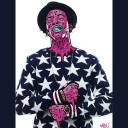 rap hiphop zombiestyle grimeart