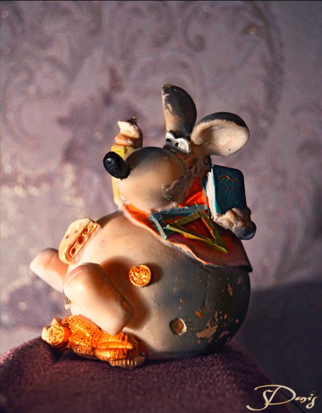 #money-box#rat#ceramics#colorful#photography#