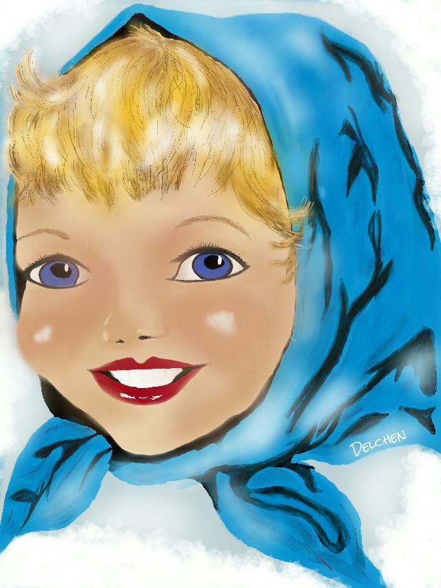 #wdpwomenportraits #drawing #child #Porträt #werbung #mydrawing