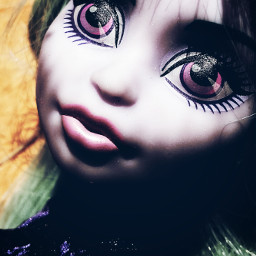 colorful colorsplash doll monsterhigh