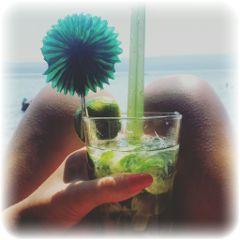 holiday coctail mojito summer beach