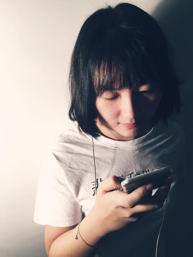 #friend #light #phone