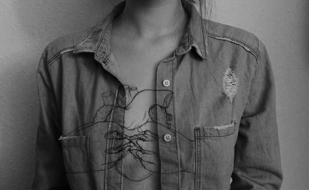 """Flesh, bone, there is nothing there --."" - Sylvia Plath   #blackandwhite #collage #emotions #hdr #oldphoto #people #photography #adinaart #adinaha #adinaphotography  #heart  #overlay  #me  #mine  #freetoedit"
