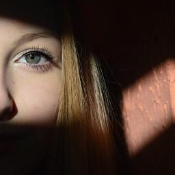 eye eyes me girl sun