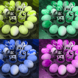 eggs color easter