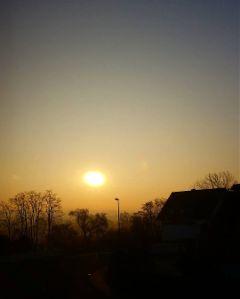 sky morning sunrise colorful