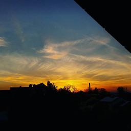 sky clouds sunset wanderlust freedom