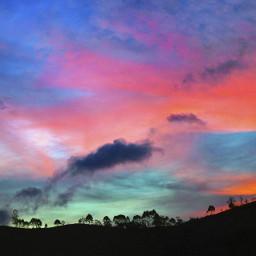 freetoedit nature sky clouds colors