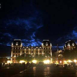 night lights paris