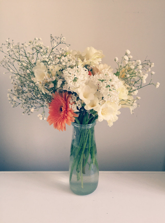 Pretty flowers are the best part of being a bridesmaid! #wedding #flowers    #FreeToEdit