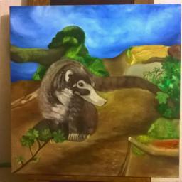 my artwork paintings animals