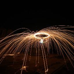fire art steelwool photography workshop pratikjain dahod