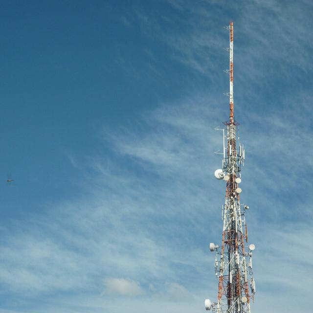 #CéuAzul #Torre #BlueSky #Tower #LençóisPaulista #Brasil