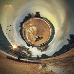 swirledeffect tinyplanet