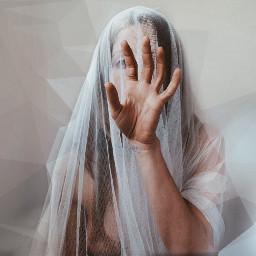 interesting polygon polygoneffect selfportrait woman freetoedit