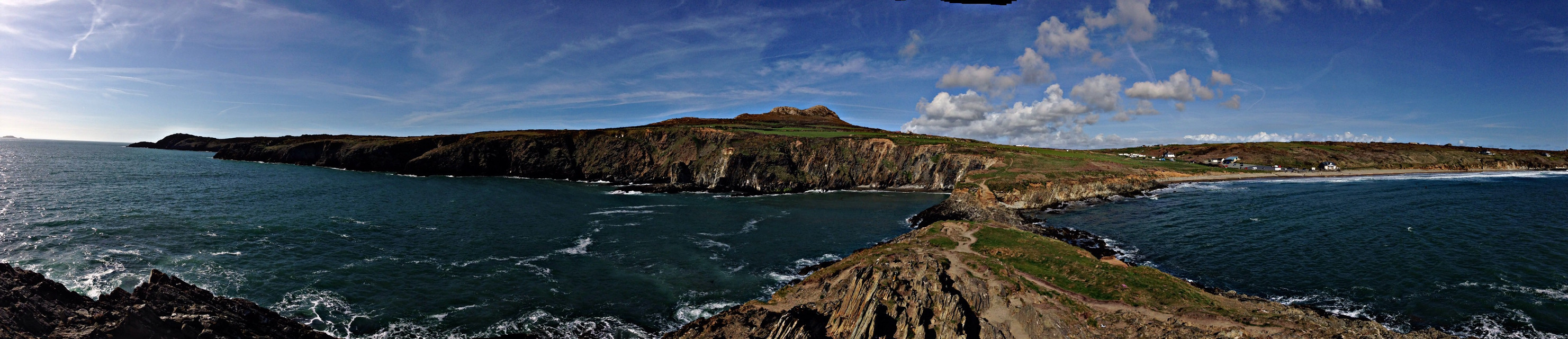 most beautiful coastal path in Uk Welsh coastal path @St Davids