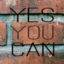 yesyoucan bricks wall freetoedit