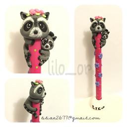 happymothersday raccoon pen coldporcelain